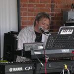 Brad Poulos - piano at Busholme Inn