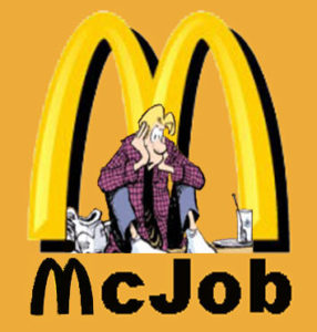McJobs for our jobless generation??